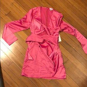 tobi Dresses - Tobi Pink Satin Dress